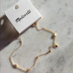 Madewell stars choker necklace